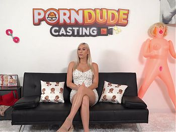 Hot Blondie Kay Lovely Gets Banged And Facialized