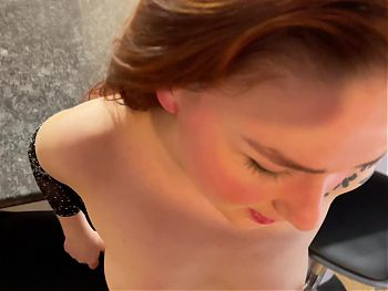Facial and Hotel Sex with Redhead wife KleoModel FULL
