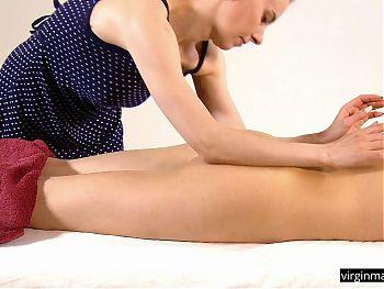 Natasha Benie – super cute and tight virgin massaged