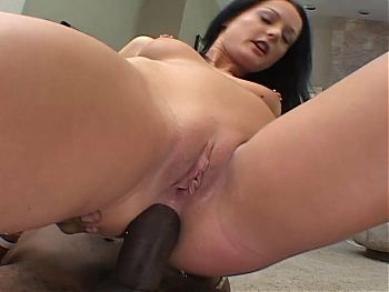 Teen in a DP threesome